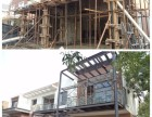 唐山钢结构阁楼制作复式层搭建挑高室内做夹层隔层