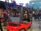 二手3吨合力叉车中缸带侧移,自动挡,柴油叉车销售
