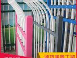 三横杠单防爬道路安全防护栏 锌钢护栏 建
