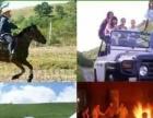 丰宁坝上草原榆树沟腾龙家园旅游住宿骑马较好的地方