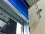 光明新区电动折迭式消防卷帘门特级防火门厂家上门测量定制