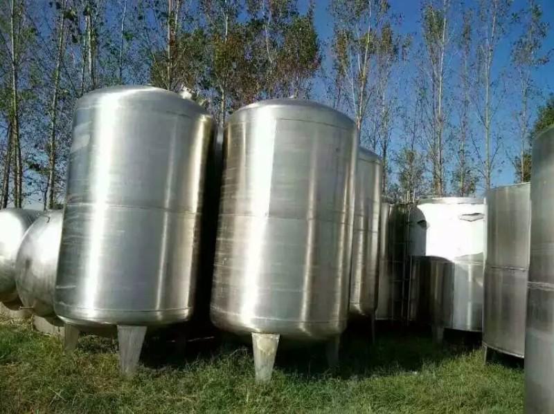 转让二手不锈钢储罐二手化工设备储罐