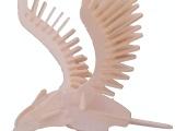 鹰/3D仿真玩具/木制模型/手工自装DIY益智玩具/家居饰品/工