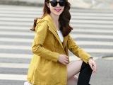 秋装短款休闲外套女装新款修身显瘦百搭女士秋季风衣小外套女潮