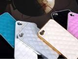 奢华真皮小羊皮iphone5 皮套 iPhone4苹果保护壳手机