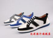 2014工厂直销秋冬款广州外贸真皮休闲鞋微信代理一件代发
