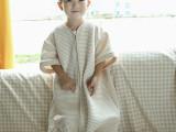 保暖空气层儿童睡袋 宝宝棉睡袋天然机彩棉