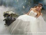 2013新款婚纱礼服白色公主婚纱韩版欧美婚纱礼服精美婚纱礼服长款