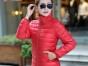 2018春秋装韩版新款大码羽绒服女轻薄修身显瘦轻便中长款外套