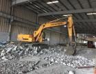 上海杨浦区控江路挖掘机出租路面维修破碎垃圾外运