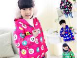 韩版女童羽绒服 新款中大儿童连帽羽绒服童装潮 保暖外套星子厂家