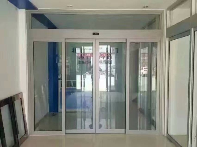 石家庄专业安装维修地簧门玻璃门自动门自动门