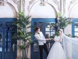 靜謐夜晚的驚艷美好鄭州婚紗攝影工作室