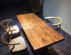 乌金木大板办公桌会议桌书桌