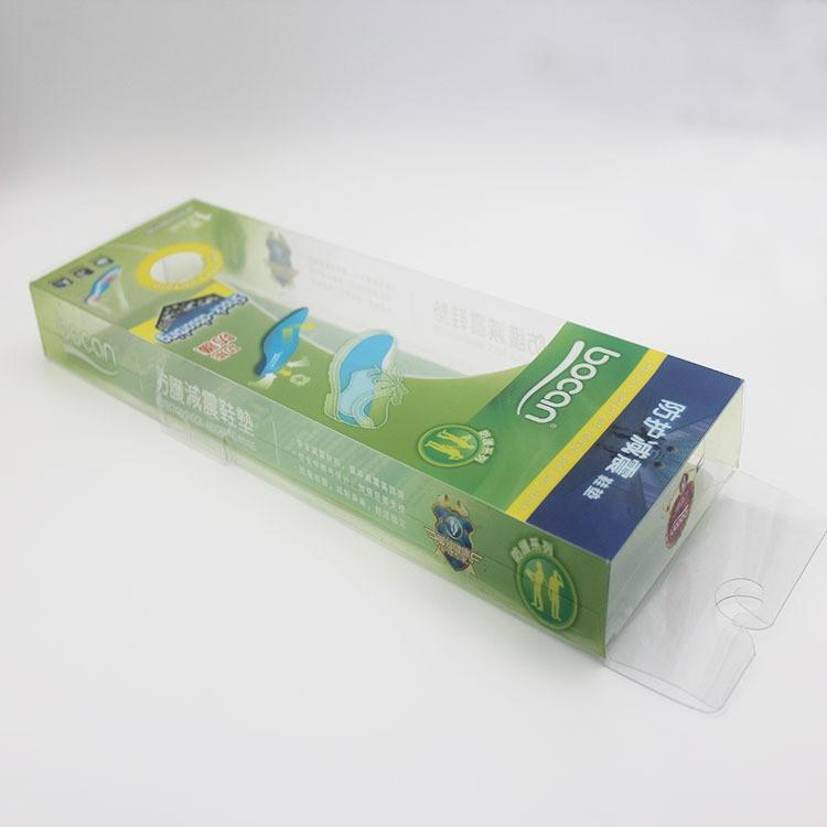 深圳印刷厂家透明磨砂塑料盒 透明pvc盒彩盒厂家