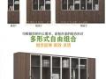 杭州办公家具板式文件矮柜储物柜茶水柜花槽柜隔断开门柜放花盆