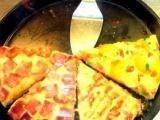 进口食品披萨批发 9寸披萨 切片披萨 冷