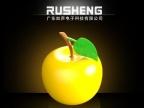 厂家创意电子产品七彩装饰热卖led电子礼品客厅苹果灯