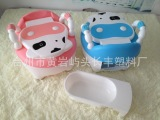 厂家批发供应现货儿童座便器 奶牛座便器 宝宝塑料马桶 婴儿马桶
