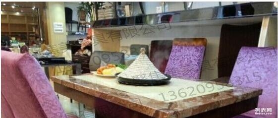 深圳厂家定制大理石蒸汽火锅桌材质 图片 规格厂家提供