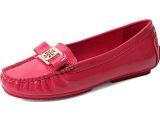 2014秋季新款单鞋N5S1 真牛皮平跟底浅口蝴蝶结女鞋广州品牌