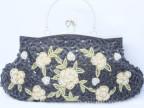 2013新款欧美范复古婚包珍珠镶钻晚宴包手提小包手拿包