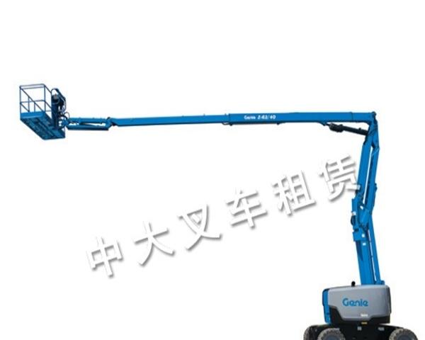 潍坊自行式高空作业平台租赁(图)价格/批发报价/生产厂家销售