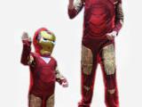 钢铁侠 COS服装 闪灯面具 iron man 派对服装 派对用