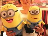 厂家直销创意可爱卡通神偷奶爸2小黄人动漫毛绒玩具公仔玩偶批发