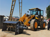 装载机安装搅拌铲斗 铲车改装搅拌斗厂家