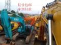克拉玛依二手挖机市场