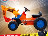 正品热销儿童脚踏工程车 挖机可坐可骑勾机315
