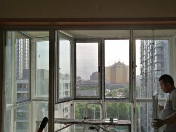 专业金刚网纱窗纱门门窗维修安装豪华隐形纱窗平开纱窗