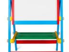 儿童益智 木制画板磁性超写字板宝宝学习涂鸦板幼儿玩具 1-2-3岁