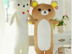 轻松小熊抱枕公仔轻松熊玩偶创意毛绒玩具情侣生日礼物男朋友抱枕