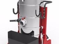 耐柯A120上下桶可分离式100L干湿两用电子震尘工业吸尘器