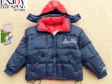 童装秋冬新款韩版儿童羽绒服 2面穿中大童男童羽绒服 外贸童外套