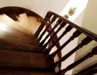 品家楼梯别墅实木楼梯 上海家庭楼梯工厂定制 实木楼梯踏板