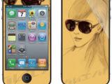 PS 手机保护膜 iphone 4s 夜光 浮雕 高清 磨砂 全