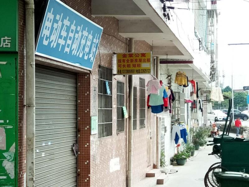 棠下 金棠公寓年底有很多光线好靠马路边的房子出租