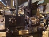 俄罗斯卧式车床2.2x13米 双刀架轧辊车床