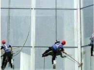 上海专业外墙清洗公司-外墙玻璃清洗-外墙广告牌铝塑板清洗