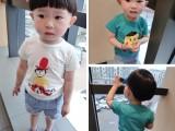3.8元儿童t恤 新款夏季韩版圆领纯棉短袖t恤宝宝童装男女
