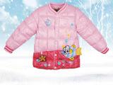 14新款秋冬季儿童装羽绒棉内胆 时尚小鱼儿童羽绒服外套一件代发