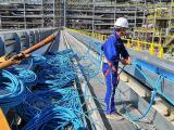 南通桥架电缆输送机生产厂家 电缆牵引机 规格齐全 安装方便