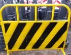 安庆马路中央防护栏京式交通栏杆市政彩钢围挡铁马栅栏