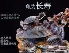 千年古寺加持琉璃子母龟龙龟摆件大龟背小龟 镇宅化煞