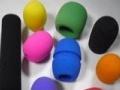 湖州耳机海绵皮套、麦克风话筒抗菌海绵套,海绵制品厂