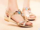 2014新款鞋子女鞋 品牌女士凉鞋 女平底鞋