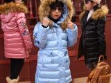 童装棉袄 女童冬装新款加厚棉衣外套 中大儿童羽绒棉韩版品牌服装